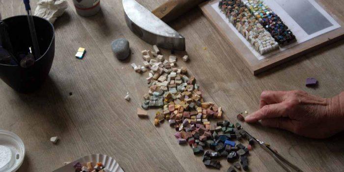 Impressionen Mosaikkurs