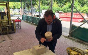 Andreas Rimkus bei seinem Besuch im Bildungswerk